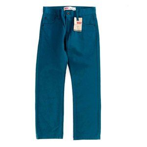 LEVI'S Girls 513 Slim Straight Leg Jeans 14R